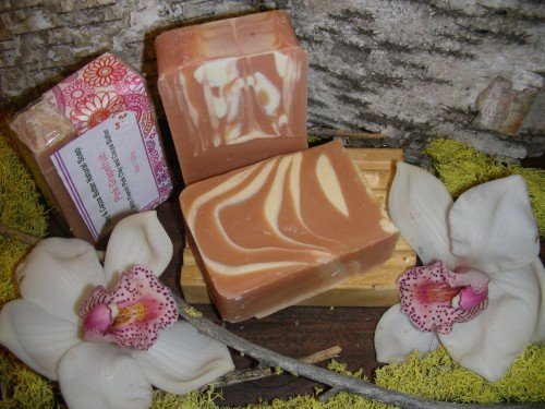 natural soap pink grapefruit