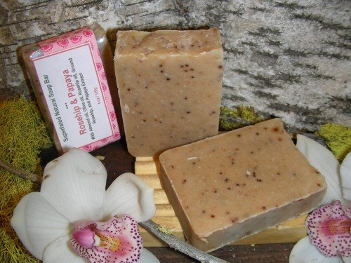 natural soap specialty rosehip and papaya