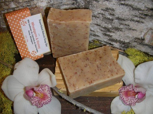 natural soap specialty wheatgerm and honey